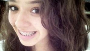 Aos 14 anos, Ana Lídia Gomes foi morta em ponto de ônibus no Setor Conjunto Morada do Sol, em Goiânia | Foto: Reprodução/WhatsApp