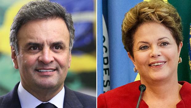 Pesquisa Istoé/Sensus: Aécio tem 58,8% e Dilma Rousseff 41,2%