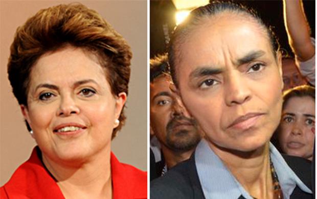 Datafolha: Marina Silva empata com Dilma no primeiro turno e vence no segundo