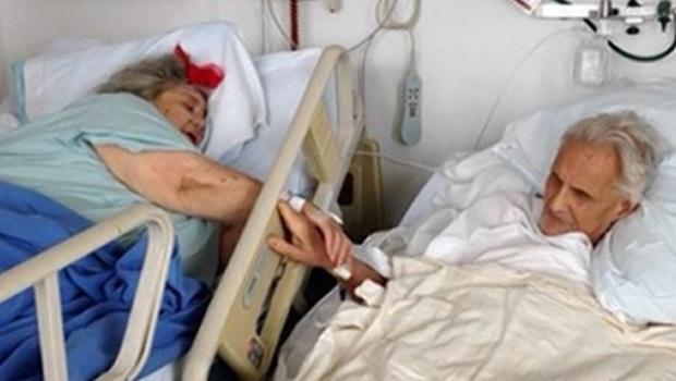 Casal de idosos morre de mãos dadas nos EUA. Foto: Reprodução | DailyNews