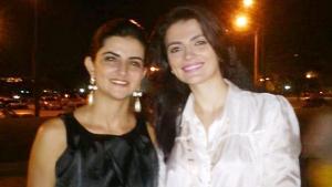 À esquerda Lívia Fiori, ao lado da irmã Ana Maria, assassinada em março por um motoqueiro em um suporto assalto | Foto: Acervo Familiar