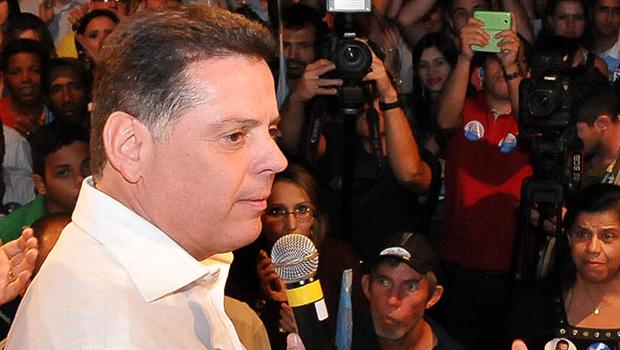 """Em discurso duro, Marconi diz que oposição torce por """"mais homicídios"""" em Goiás"""