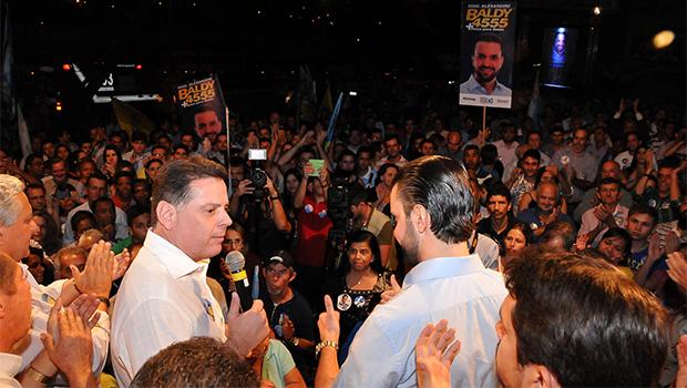 """Alexandre Baldy disse a Marconi Perillo que não vai """"bandear"""" para a oposição"""
