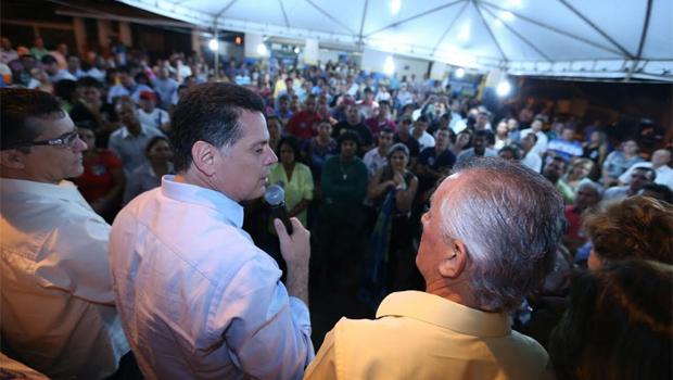 Em campanha por Jataí, Marconi visita prefeito peemeebista e sela parcerias com o município