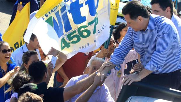 Marconi participa de carreata em cidades do interior de Goiás