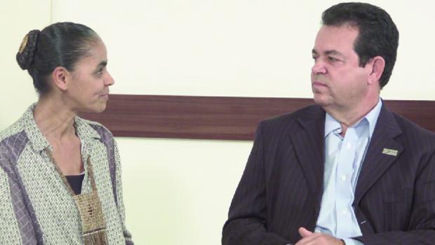 """Aguimar Jesuíno, candidato ao Senado em Goiás, com Marina: """"Em ética, ela é mesmo intransigente"""""""