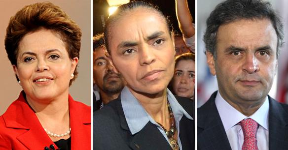 CNT/MDA: Dilma e Marina crescem; Aécio recua