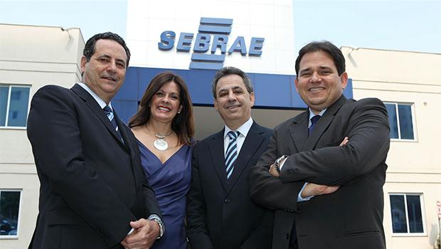 Wanderson Portugal, Luciana Albernaz, Manoel Xavier e Marcelo Baiocchi: o Sebrae com o pequeno empreendedor   Edmar Wellington/Sebrae