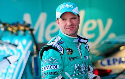 Rubens Barrichello garante a pole position na Corrida do Milhão, em Goiânia