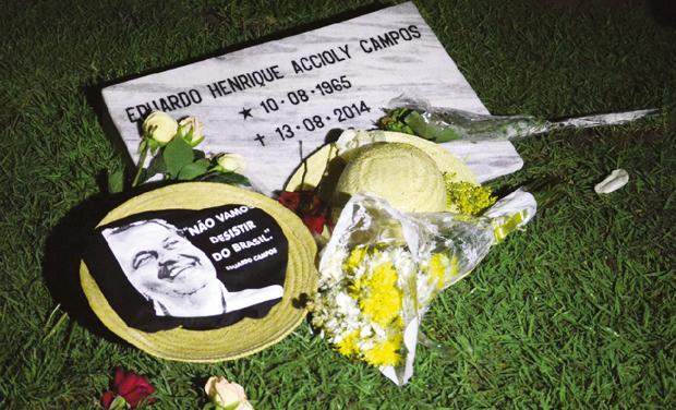 Morte do líder do PSB, Eduardo Campos, foi o primeiro golpe inesperado para os socialistas, mas não o único | Foto: Chico Peixoto/Fotos Públicas