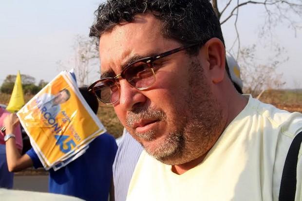 Jornalista Leno Silva | Foto: Marco Monteiro