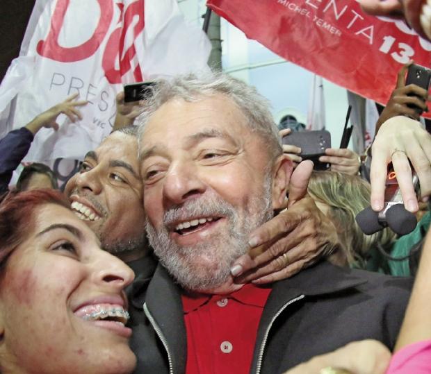 Lula da Silva: membro da elite desde os tempos das greves do ABC Paulista e líder predileto do general Golbery