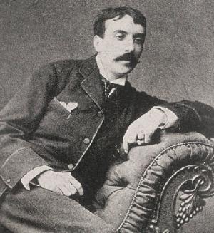 Eça de Queiroz: em sua carta, o escritor português fala das mortes dos escritores ingleses Thomas Carlyle e George Eliot (Mary Ann Evans)