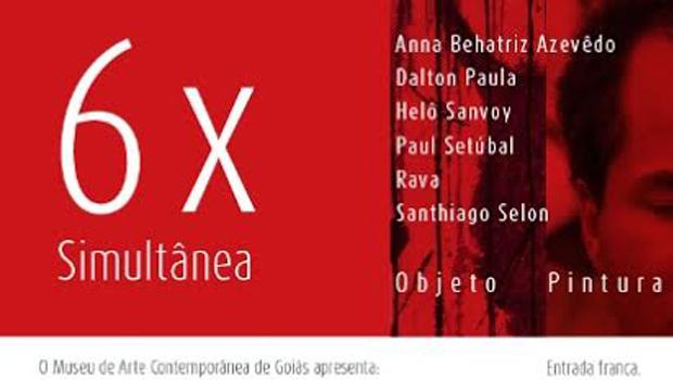Exposição abre espaço para seis artistas de destaque em Goiás