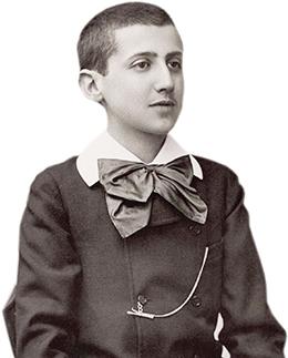 Marcel Proust, aos 16 anos, em 1887