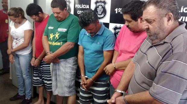 Quadrilha interestadual é presa em Goiás suspeita de praticar golpes em fazendeiros em cinco Estados