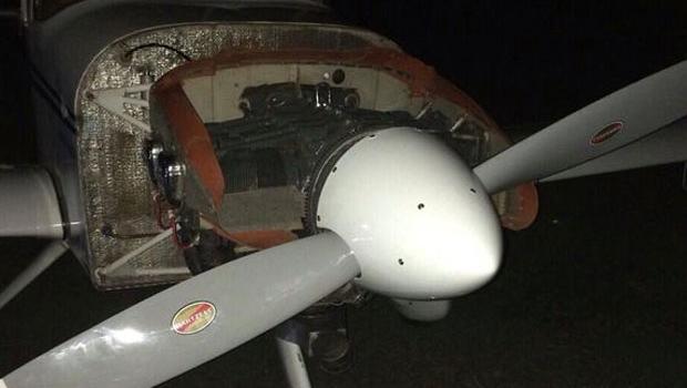 Piloto morre após ser atingindo por hélice de avião, em Anápolis