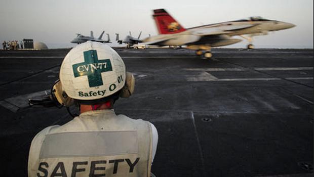 Seis jatos Tornado GR4 estão a postos para iniciar os ataques | Foto: Associação Unitel/Reprodução