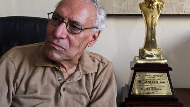 Jack Agüeros morreu no dia 4 de maio deste ano com o agravamento da doença Foto: Reprodução