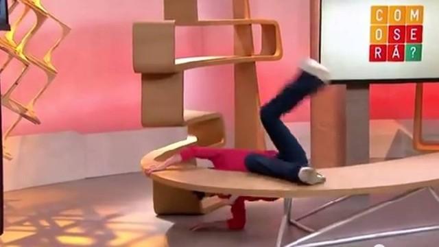 """Tombo"" de Sandra Annemberg durante programa ganha a internet"