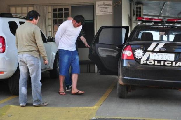 Evandro responde por homicídio qualificado /  Foto:  Fábio Pelinson / Jornal O Alto Uruguai