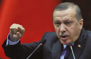 Presidente turco Recep Tayyp Erdogan: ele pode ser tudo,  menos uma liderança