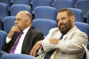 Paulo Magalhães (à direita) está junto com o bloco moderado na disputa pela presidência na Câmara