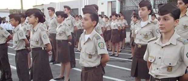 Colégios militares de Goiás disponibilizam mais de 4 mil vagas para 2015