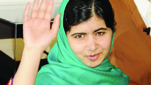 Malala Yousafzai, a menina paquistanesa condecorada com o Prêmio Nobel por sua luta em favor dos direitos das mulheres de seu país
