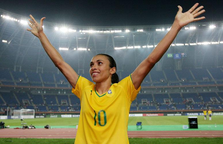 Brasileira Marta é indicada novamente para prêmio de melhor do mundo