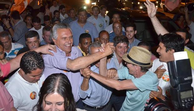 """Ronaldo Caiado: """"Vou trabalhar 24h para eleger Iris Rezende"""""""