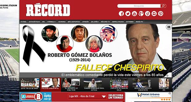 2056 - Chespirito (jornal Record)