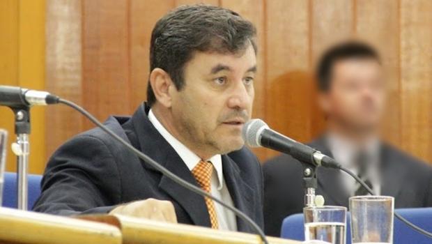 Clécio Alves, na presidência da Câmara | Foto: Alberto Maia / Câmara Municipal