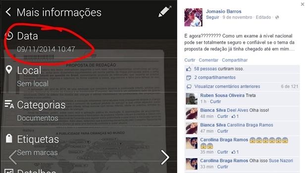 Estudante do Piauí denuncia que já sabia tema da redação antes da prova do Enem