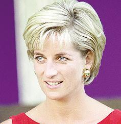 """Princesa Diana disse que Rosane Malta era uma mulher bonita e confessou-se """"muito cansada""""  Foto: Divulgação"""