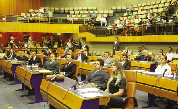 Projeto de Lei que propõe a alteração no número de cadeiras do plenário será apreciado ainda neste ano   Foto: Câmara Municipal de Goiânia