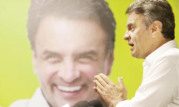 Senador Aécio Neves: diferença pequena de votos na disputa com Dilma Rousseff o credencia a ser o porta-voz da oposição | Orlando Brito/ PSDB