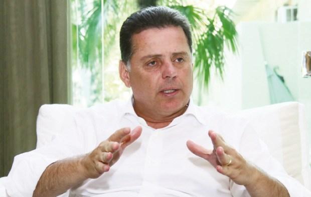 Marconi Perillo, governador, planeja buscar sucesso político  nacional por intermédio da excelência de gestão em Goiás | Foto: Fernando Leite/Jornal Opção
