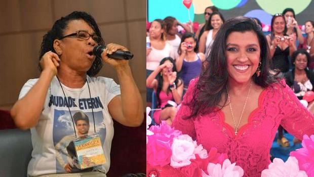 """Regina Casé apresenta Esquenta! """"arrasada"""" após ser chamada de mentirosa pela mãe do dançarino DG"""