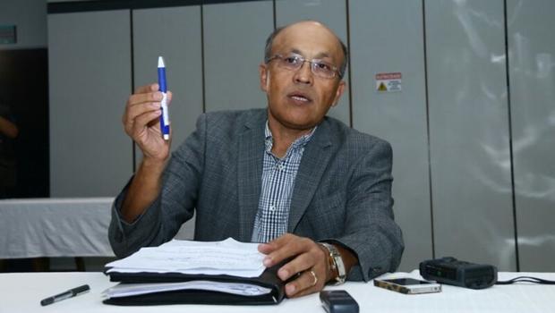O aumento no imposto foi divulgado nesta sexta-feira pelo secretário municipal de Finanças, Jeovalter Correia | Foto: Fernando Leite / Jornal Opção