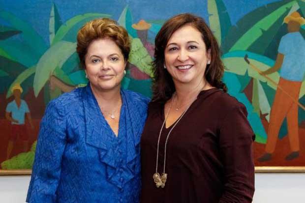 A goiana Kátia Abreu vai assumir o Ministério da Agricultura