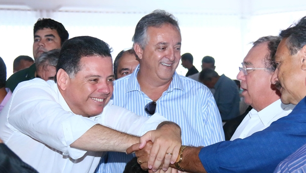 Em evento de agradecimento a aliados, Marconi Perillo reafirma apoio às prefeituras