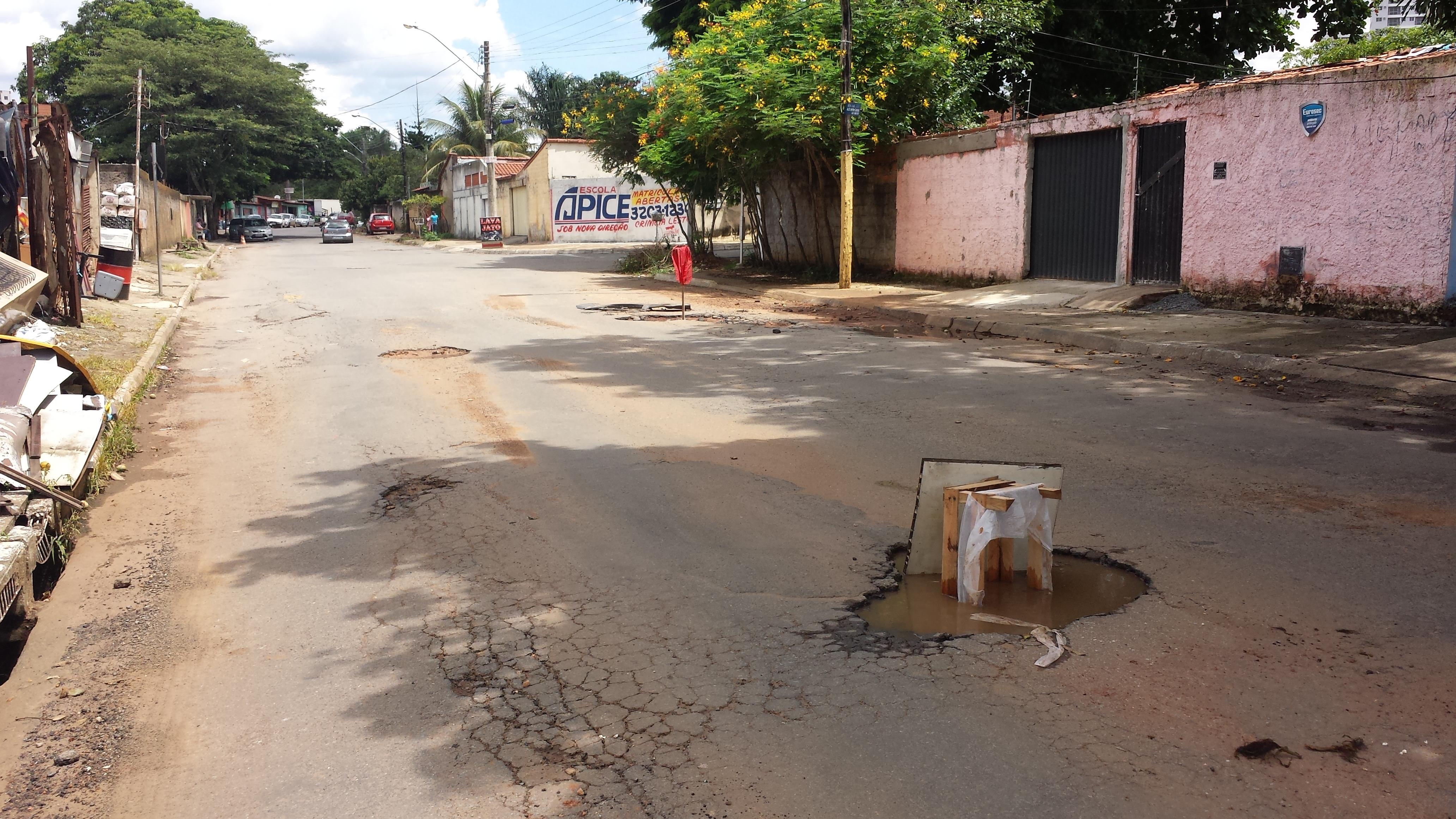 Avenida no Setor Crimeia vira pista de rali urbano