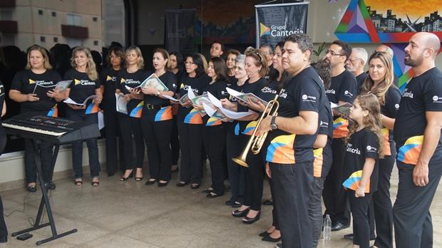 Música e solidariedade presentes na II Cantata de Natal da Record Goiás