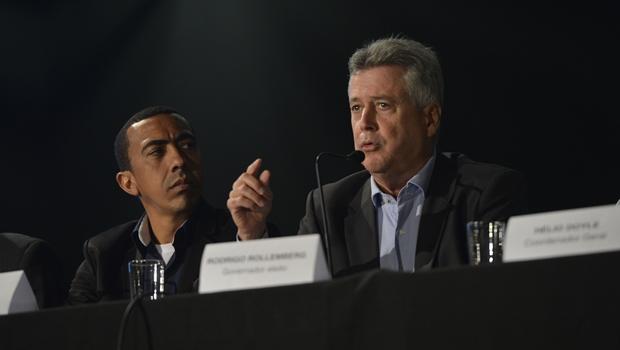 Governador eleito pelo DF, Rodrigo Rollemberg (PSB), apresenta levantamento sobre situação financeira do DF | José Cruz/Agência Brasil