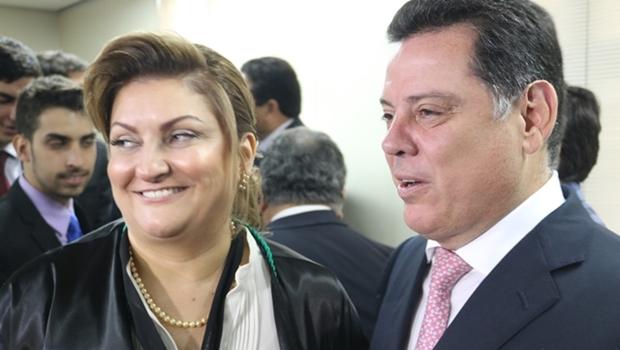 Governador e autoridades participam da posse da primeira presidente do TCE-GO