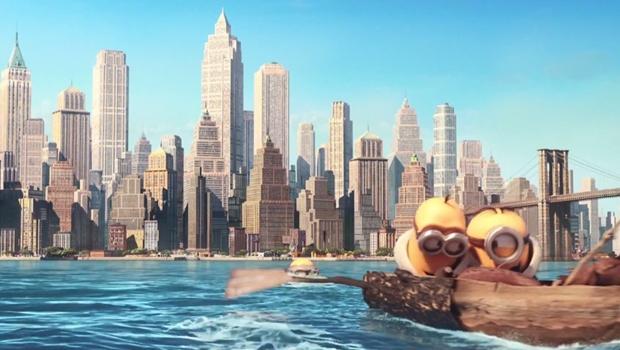 """""""Minions"""": em novo trecho do filme, personagens descobrem Nova York"""