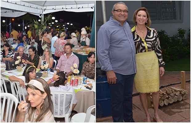 Apopulação aproveitou os shows e a comida, que teve o milho como base. Prefeito Jânio Darrot e primeira-dama Dairdes também participaram da festa.   Fotos: Jaqueline Costa