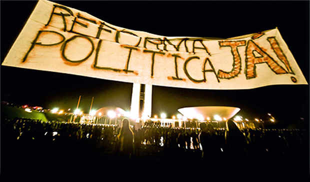 Reforma política: é preciso ter a mobilização da sociedade