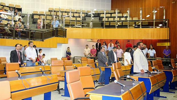 Projeto foi aprovado em primeira votação na Câmara | Foto: Eduardo Nogueira/Câmara de Vereadores